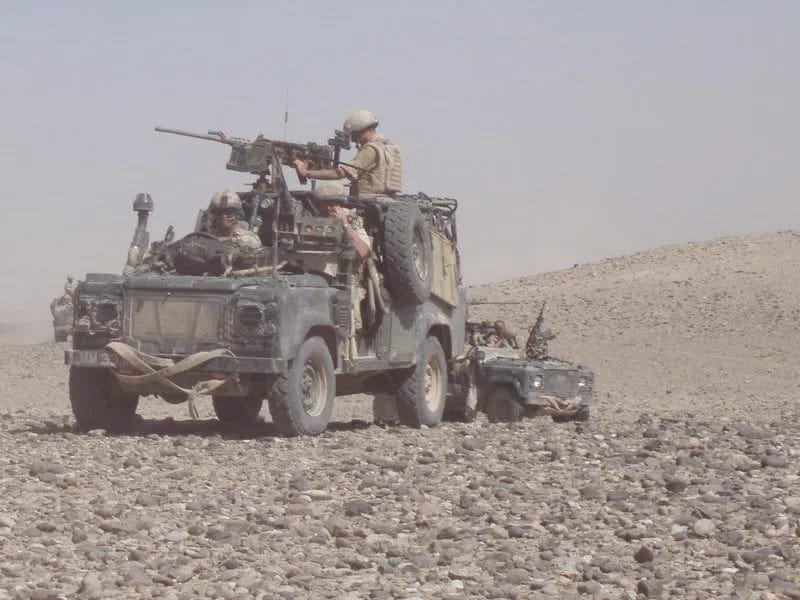 Mike on patrol in Afghanistan (Photo: Supplied)