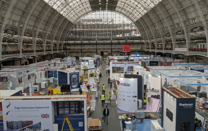 London's Olympia hosts the International Security Expo (Photo: Twitter / @ISE_Expo)