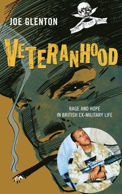 Joe Glenton (inset) interviewed ex-servicemen for his new book, Veteranhood (Images: Joe Glenton / Repeater Books)