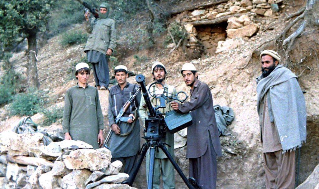 British intelligence backed Afghan mujahideen from Jamiati Islami in the 1980s.