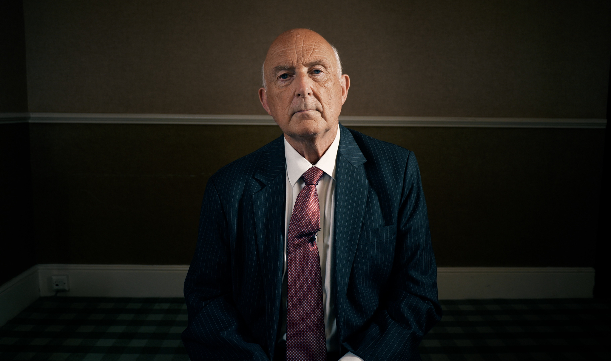 Former British army intelligence officer Colin Wallace (Photo: Michael Oswald / Independent POV)